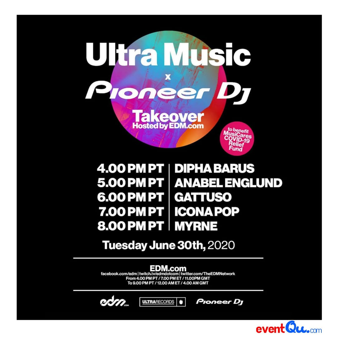 Dipha Barus Menjadi Salah Satu Line Up di Event Live Streaming Internasional Ultra Music